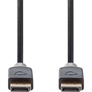DisplayPort-Kabel DP Stecker > DP Stecker 2 m Anthrazit NEDIS CCBP37000AT20