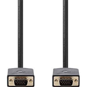 VGA Kabel Stecker > Stecker 2 m, Anthrazit NEDIS CCBP59000AT20