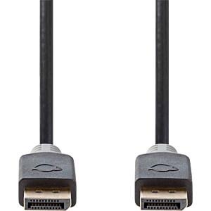 DisplayPort-Kabel, DP Stecker > DP Stecker 2 m, Anthrazit NEDIS CCBW37000AT20