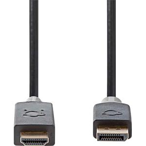 DisplayPort / HDMI-Kabel, DP Stecker > HDMI-Stecker, 2 m NEDIS CCBW37100AT20