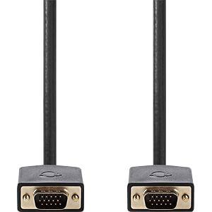 VGA-Kabel, Stecker > Stecker, 10 m, Anthrazit NEDIS CCBW59000AT100