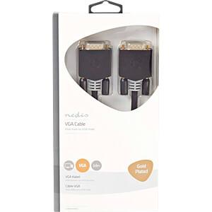 VGA-Kabel, Stecker > Stecker, 2 m, Anthrazit NEDIS CCBW59000AT20