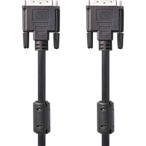 DVI-Kabel, DVI-D 24 +1 Stecker > DVI-D 24 +1 Stecker, 3 m NEDIS CCGP32000BK30