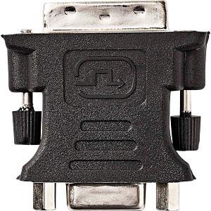 Adapter, DVI-I 24 + 5 Stecker > VGA-Buchse NEDIS CCGP32900BK