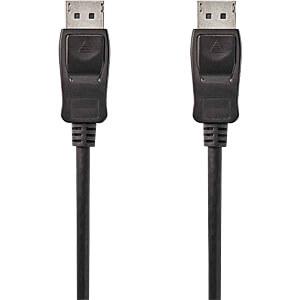 Kabel, DisplayPort-Stecker > DisplayPort-Stecker, 2 m, Schwarz NEDIS CCGP37010BK20