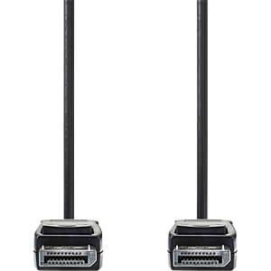 Kabel, DisplayPort-Stecker > DisplayPort-Stecker, 3 m, Schwarz NEDIS CCGP37010BK30
