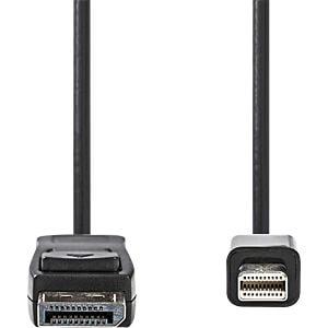 Kabel, Mini DisplayPort-Stecker > DisplayPort-Stecker, 3 m, Schw NEDIS CCGP37400BK30