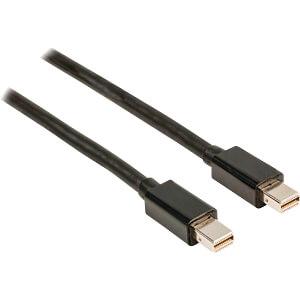 Mini DisplayPort Kabel, Mini DP-Stecker > Mini DP-Stecker, 1 m NEDIS CCGP37500BK10