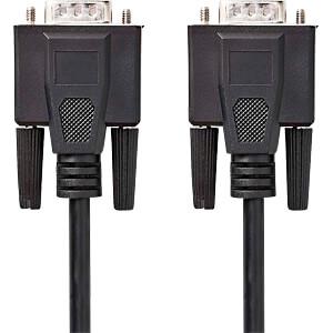Kabel, VGA-Stecker > VGA-Stecker, 10 m, Schwarz NEDIS CCGP59000BK100