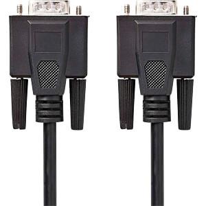 Kabel, VGA-Stecker > VGA-Stecker, 15 m, Schwarz NEDIS CCGP59000BK150