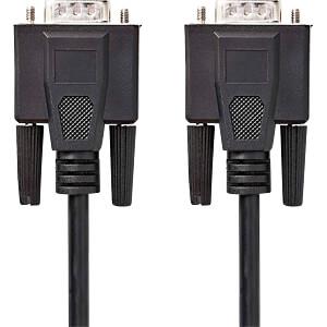 Kabel, VGA-Stecker > VGA-Stecker, 3 m, Schwarz NEDIS CCGP59000BK30