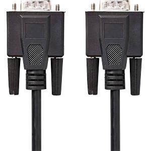 Kabel, VGA-Stecker > VGA-Stecker, 30 m, Schwarz NEDIS CCGP59000BK300
