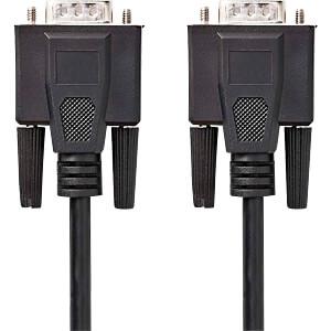 Kabel, VGA-Stecker > VGA-Stecker, 5 m, Schwarz NEDIS CCGP59000BK50