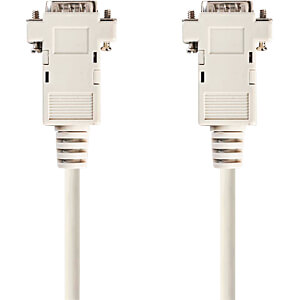 Kabel, VGA-Stecker > VGA-Stecker, 2 m, elfenbeinfarbend NEDIS CCGP59001IV20
