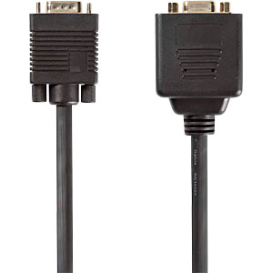 Kabel, VGA-Stecker > 2x VGA-Buchse, 0,2 m, Schwarz NEDIS CCGP59120BK02
