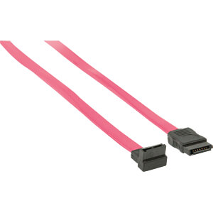 SATA-Kabel 3 GB/s, SATA-Buchse > SATA-Buchse 90° gewinkelt 0,5 m NEDIS CCGP73110RD05
