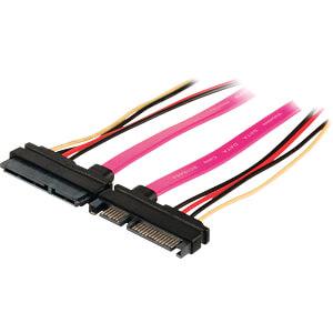 Internes Netzkabel, 22-pol SATA-Stecker > 22-pol SATA-Buchse 0,5 NEDIS CCGP73125VA05