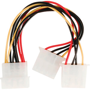 Internes Netzkabel, Molex-Stecker > 2x Molex-Buchse, 0,15 m NEDIS CCGP74020VA015
