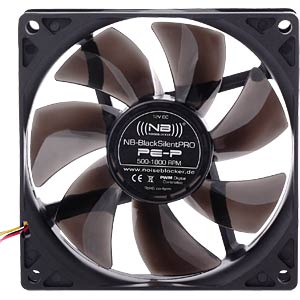 Noiseblocker BlackSilent Pro Fan PE-P - 92mm NOISEBLOCKER PE-P