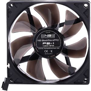 Noiseblocker BlackSilent Pro fan PE-1 - 92 mm NOISEBLOCKER PE-1