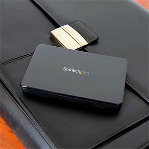 externes 2.5 SATA HDD/SSD Gehäuse, USB 3.1 micro B STARTECH.COM S251BPU313