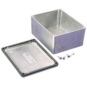 Die-cast aluminium housing, 115 x 90 x 55 mm, IP66 HAMMOND MANUFACTURING 1550WC