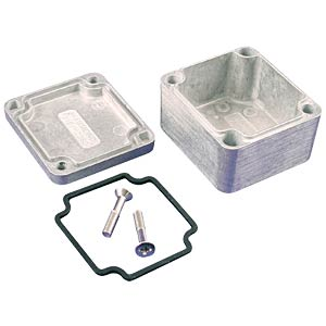 Die-cast aluminium housing, 50 x 45 x 30 mm, thick-walled, IP 66 HAMMOND MANUFACTURING 1550Z101