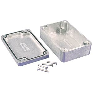 Die-cast aluminium housing,90x36x30mm, thick-walled, IP 66 HAMMOND MANUFACTURING 1550Z102