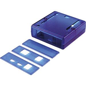 Gehäuse für Arduino Leonardo 74 x 75 x 27 mm blau HAMMOND MANUFACTURING 1593HAMARTBU