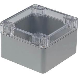 Kunststoffgehäuse, 82 x 80 x 55 mm, IP65 RND COMPONENTS RND 455-00193