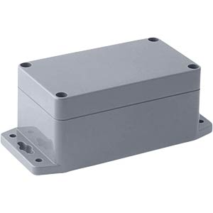 POLYCARBONATE BOX WITH MOUNTING FLANGE RND COMPONENTS RND 455-00229