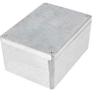 Alugehäuse, 148 x 75 x 108 mm, silber, IP65 RND COMPONENTS RND 455-00371