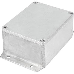Alugehäuse, 115 x 55 x 90 mm, silber, IP65 RND COMPONENTS RND 455-00418
