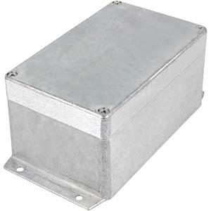 Alugehäuse, 160 x 81 x 100 mm, silber, IP65 RND COMPONENTS RND 455-00426