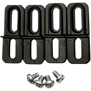 Montagehalterung, Aluminium, 4-teilig RND COMPONENTS RND 455-00482