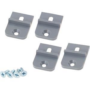 Montagehalterung, ABS, 4-teilig RND COMPONENTS RND 455-00485