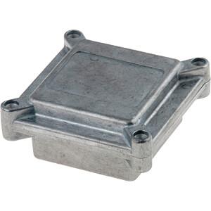 Alugehäuse, 45 x 72 x 67 mm, aluminium RND COMPONENTS RND 455-00584