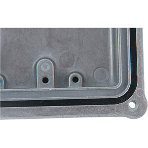 Alugehäuse, 100 x 151 x 252 mm, schwarz RND COMPONENTS RND 455-00627
