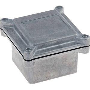 Alugehäuse, 67 x 72 x 67 mm, aluminium RND COMPONENTS RND 455-00585