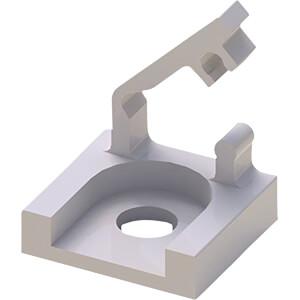Kabelsattel, Kunststoff, Ø 3,2 mm, 50er-Pack RND COMPONENTS RND 610-00281