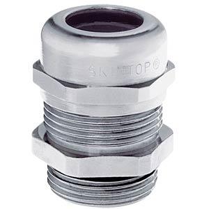 Kabelverschraubung, M 40 x 1,5, Ø 19 - 28 mm, silbergrau, IP69K LAPPKABEL 53112050