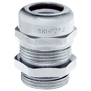Kabelverschraubung, M 40 x 1,5, Ø 15 - 23 mm, silbergrau, IP69K LAPPKABEL 53112150