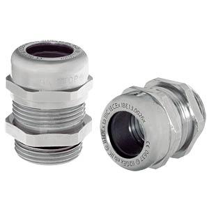 Kabelverschraubung, M 16 x 1,5, Ø 4,5 - 10 mm, silbergrau, IP68 LAPPKABEL 53112710