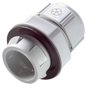 Kabeleinführung mit Rastsystem, Ø 5 - 9 mm, lichtgrau, IP68 LAPPKABEL 53112876