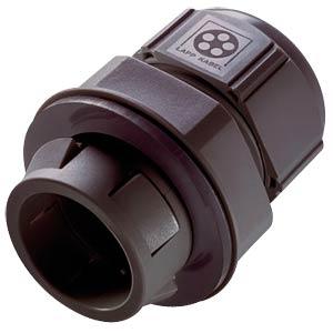 Kabeleinführung mit Rastsystem, Ø 9 - 17 mm, schwarz, IP68 LAPPKABEL 53112884