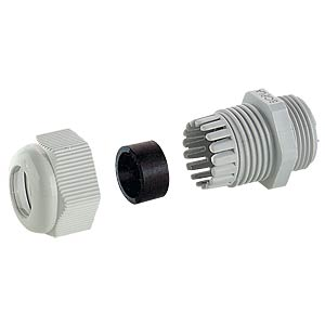 Metric cable gland, 3 - 6.5 mm, M12 FREI