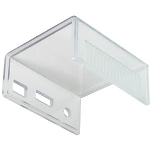 Raspberry Pi A+ housing, upper part, transparent CAMDENBOSS CBRPAP-AA-CLR