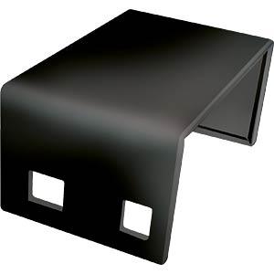 Arduino Gehäuse, Oberteil, schwarz CAMDENBOSS CBARD-AA-BLK