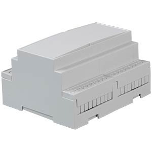Standard DIN rail housing as a kit, size 6 CAMDENBOSS CNMB/6/KIT