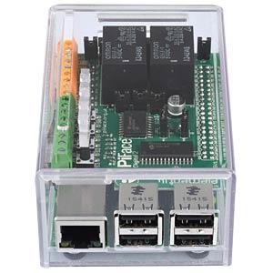 Gehäuse für Raspberry Pi 3 & PiFace 2, transparent CAMDENBOSS CBRPF-P-CLR